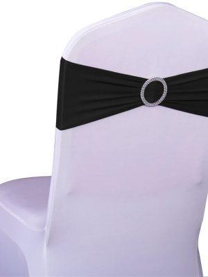Bandeau de chaise Noeud de chaise Noir location grenoble