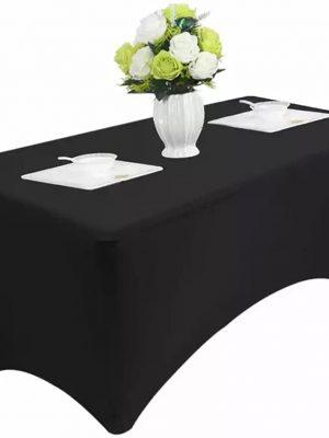 Housse de table Noir