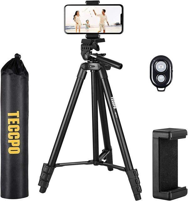Trépied, Trépied Portable, Flexible 360 °, Bluetooth, Support De Téléphone, Trépied D'appareil Photo